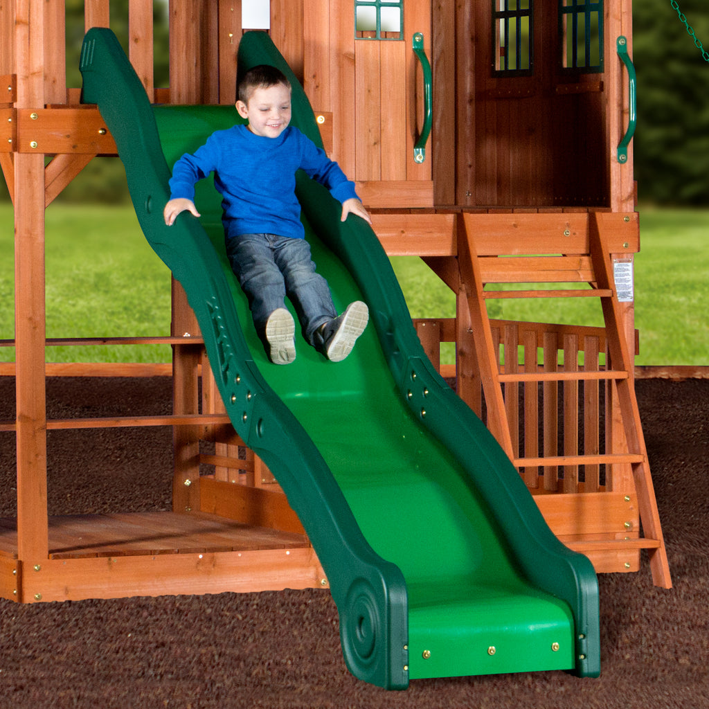 Backyard Discovery Playsets   Pacific View Wooden Swing Set