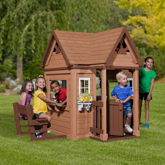 Pembrook Wooden Playhouse#main