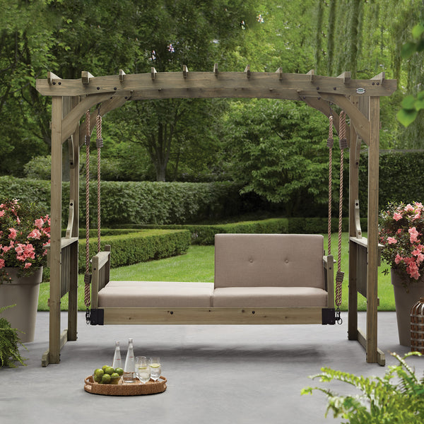 Hanging Lounger Arched Roof