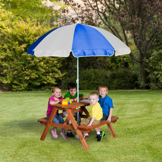 Wooden Playhouses - Sunny Cedar Picnic Table #main