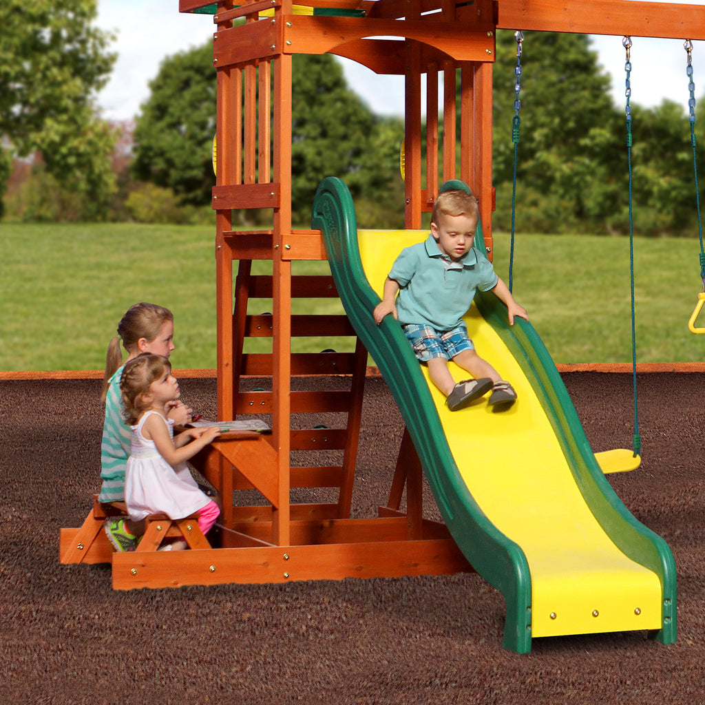 Sunnydale Wooden Swing Set Playsets Backyard Discovery