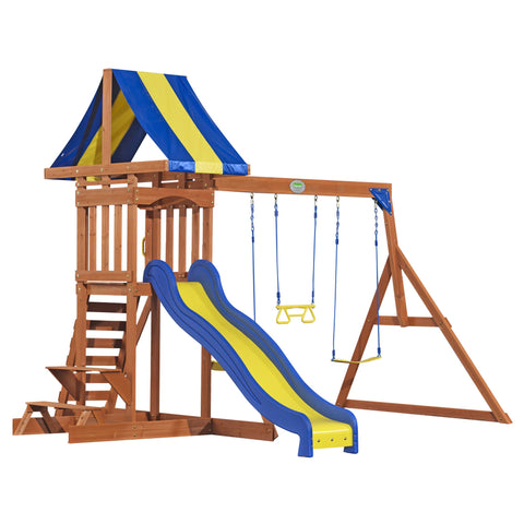 Backyard Discovery Playsets - Providence Wooden Swing Set #features