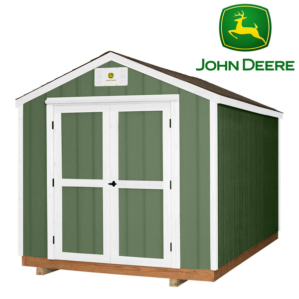 Ready Shed John Deere 8 x 12-feet#features