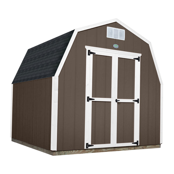 Backyard Discovery Ready Shed Gambrel 8 by 8 foot #features