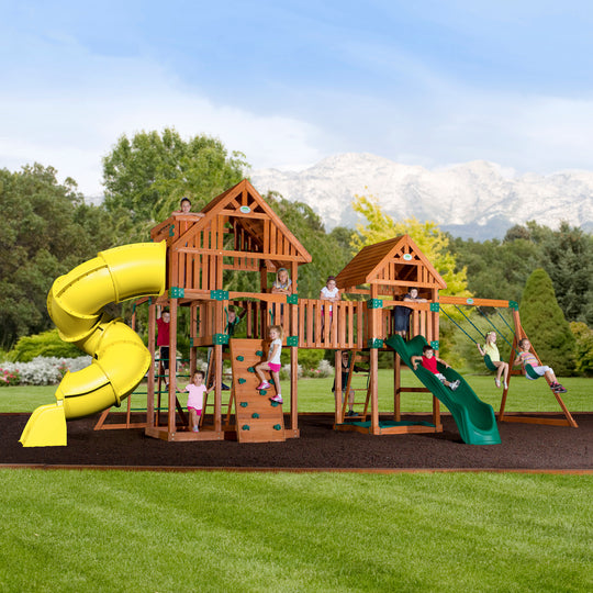 Backyard Discovery Playsets - Reno Wooden Swing Set #main