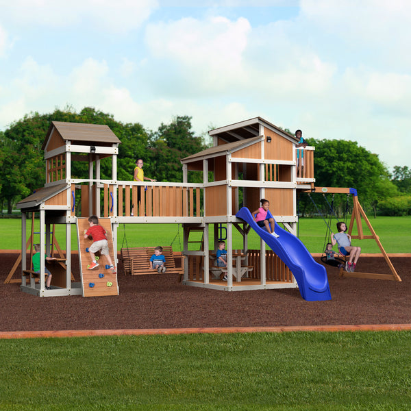 Royal Retreat Swing Set