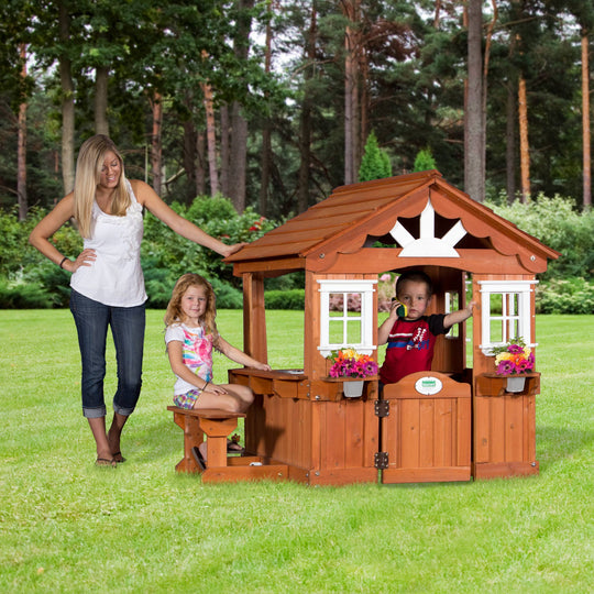 Wooden Playhouses - Scenic Playhouse#main