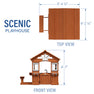 Scenic Playhouse Diagram