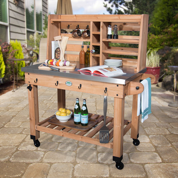 Patio Serving Cart