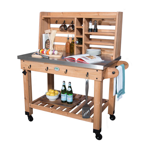 Patio Serving Cart#features