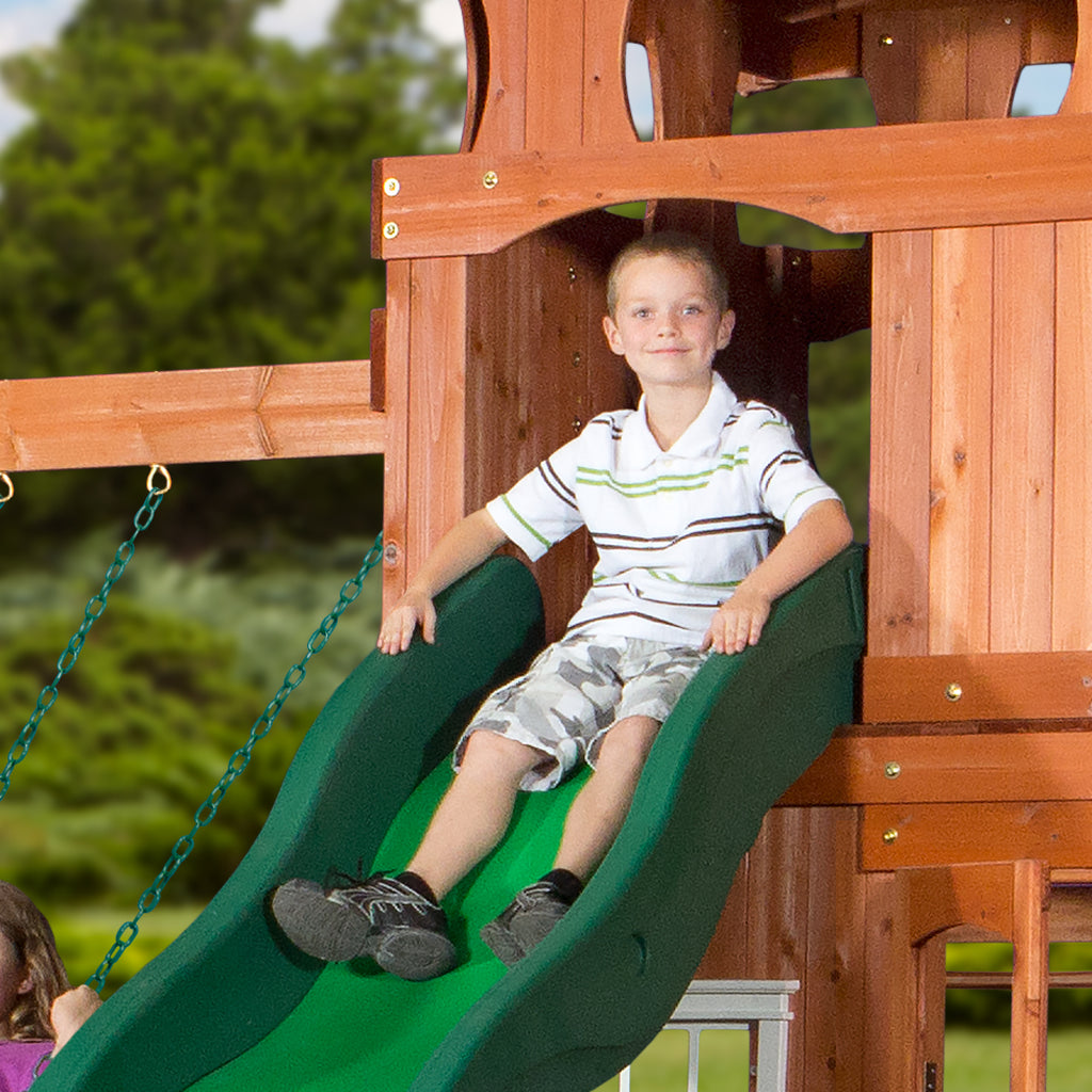 Backyard Discovery Playsets - Shenandoah Wooden Swing Set - Shenandoah Wooden Swing Set - Playsets Backyard Discovery