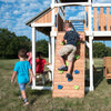 Skyline Retreat Wooden Swing Set