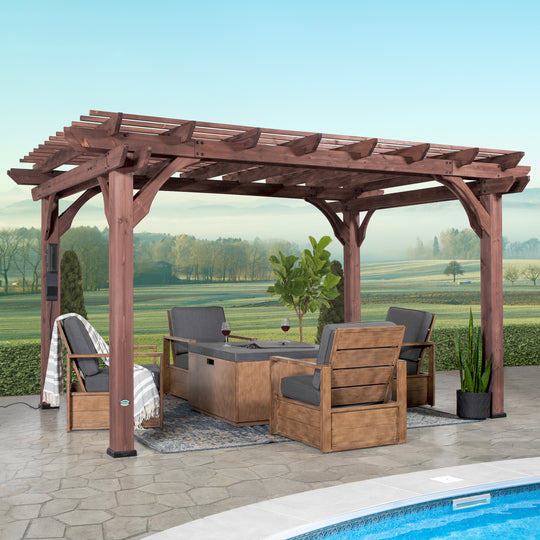 Somerville 14x10 Pergola #main
