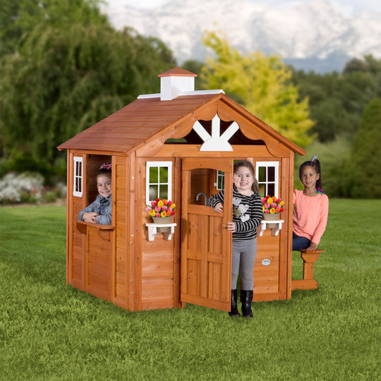 Wooden Playhouses - Summer Cottage Playhouse #main