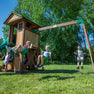 Tacoma Falls Wooden Swing Set