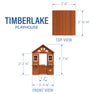 Timberlake Playhouse Diagram