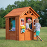 Wooden Playhouses - Timberlake Playhouse#main