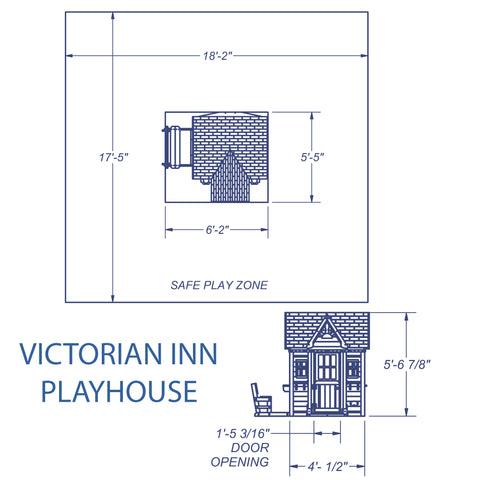 Victorian Inn Playhouse #details