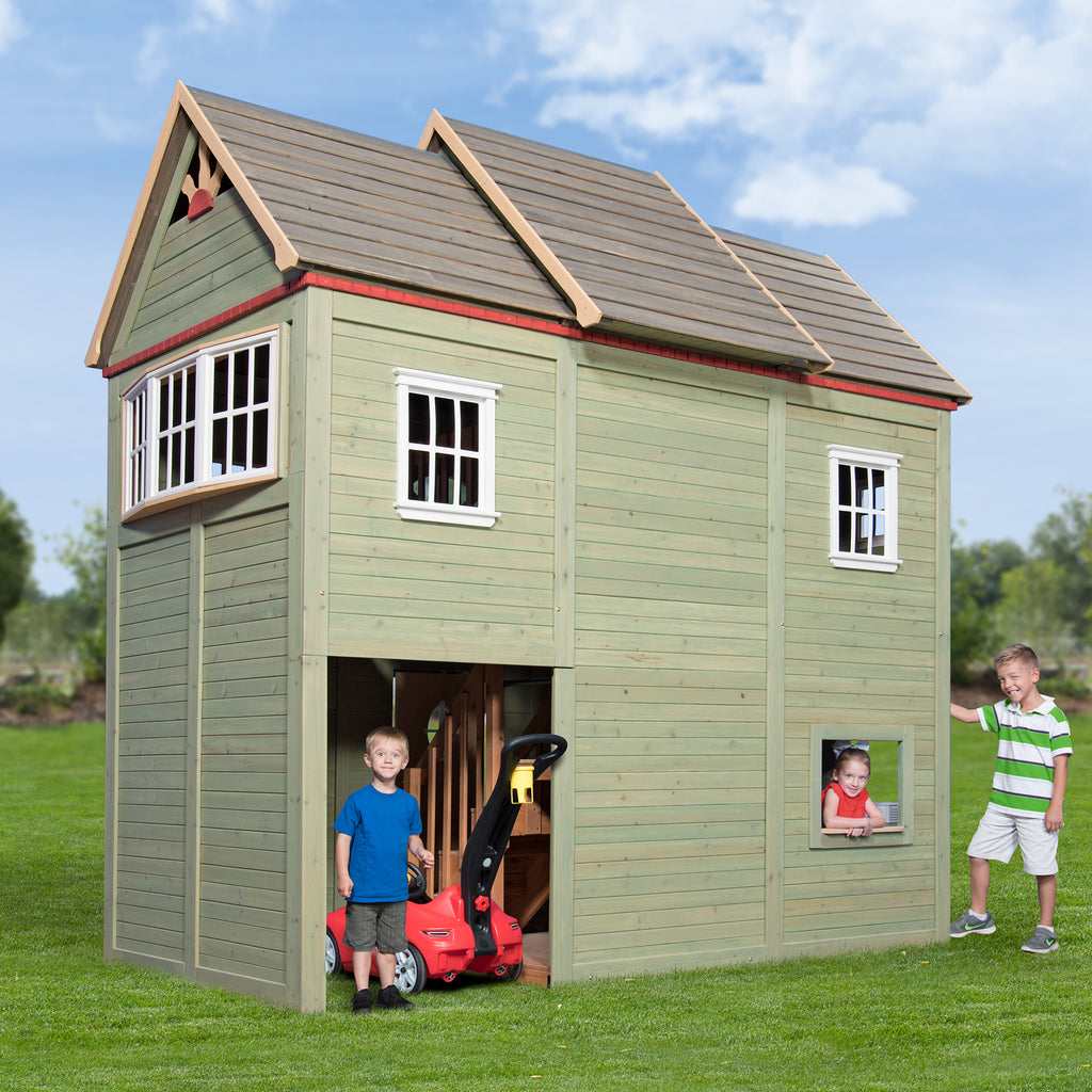 Victorian mansion playhouse playsets backyard discovery backyard discovery victorian mansion playhouse solutioingenieria Choice Image