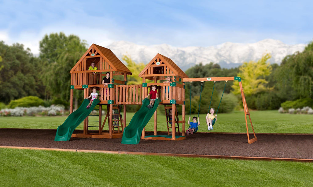 Vista Wooden Swing Set