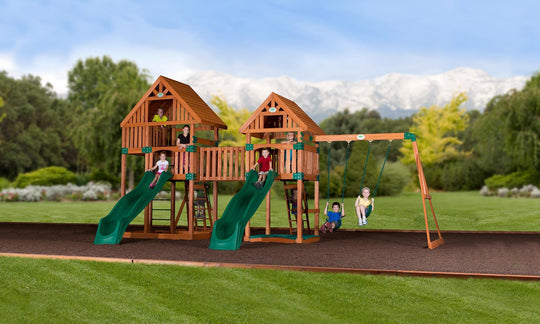 Backyard Odyssey Swing Sets - Vista Wooden Swing Set  #main