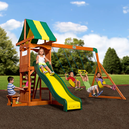 Backyard Discovery Playsets - Weston Wooden Swing Set #main