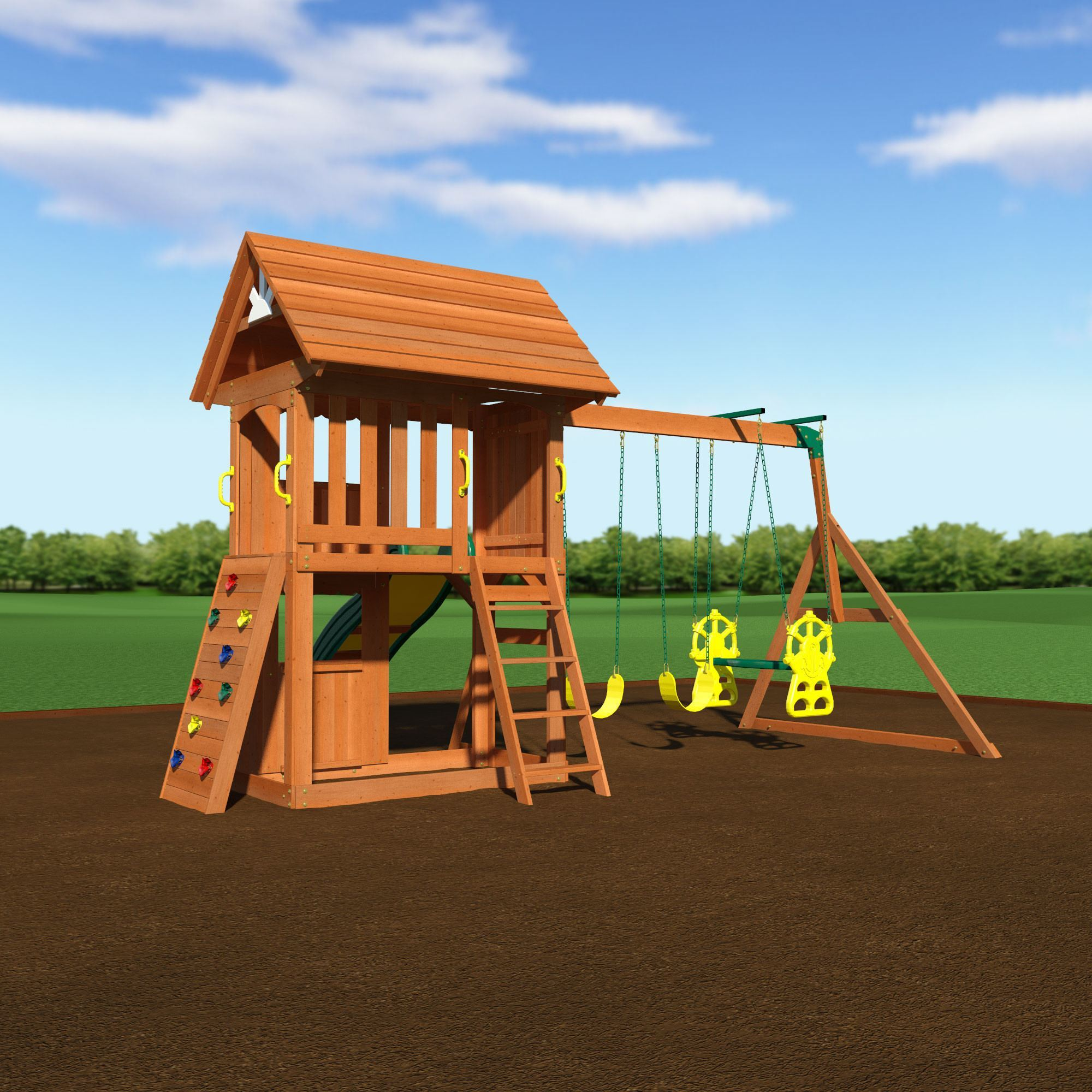 we assemble and install every model of backyard discovery backyard