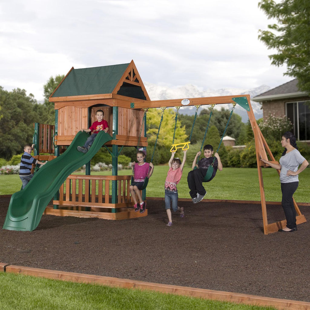Brookhaven Wooden Swing Set