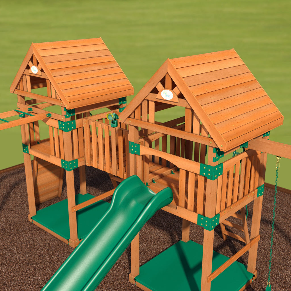 wooden swingsets cypress wooden swing set 5 ways to make sure