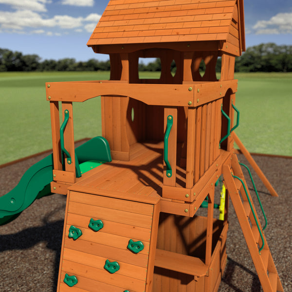 Monterey Wooden Swing Set - Playsets | Backyard Discovery