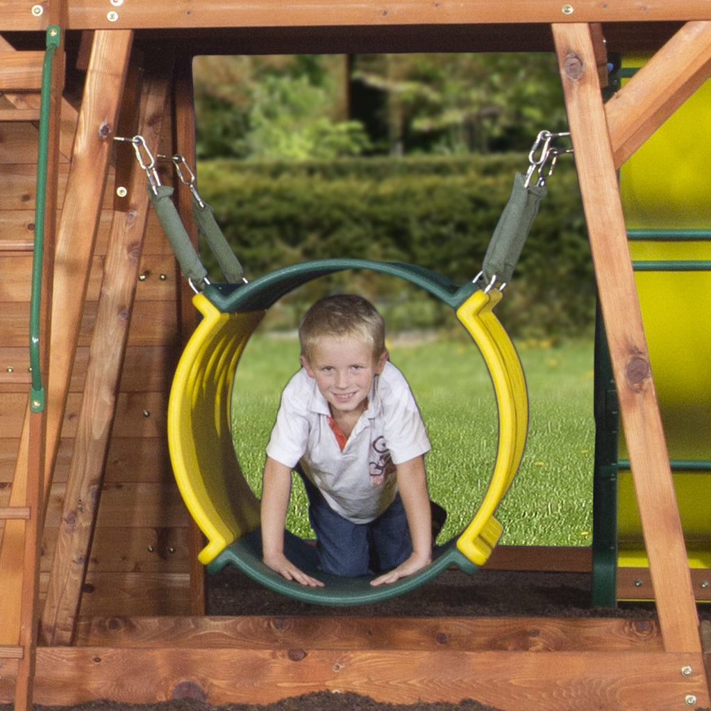 Beau Nla   Cedar View Wooden Swing Set
