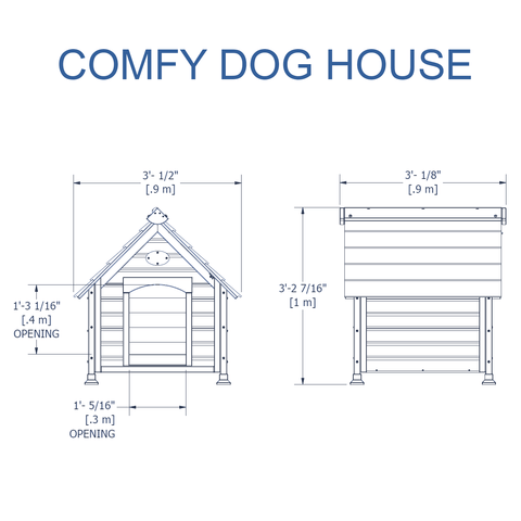 Nla - Comfy Dog House #details
