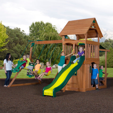 Nla - Mason Wooden Swing Set #header #features