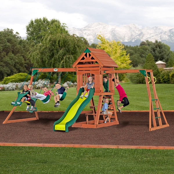 Nla - Scottsdale Wooden Swing Set #header #features