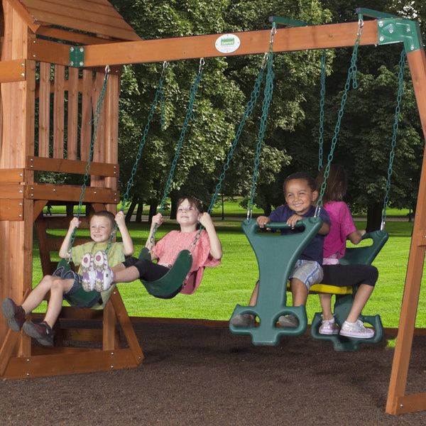 Sonora Wooden Swing Set Playsets Backyard Discovery