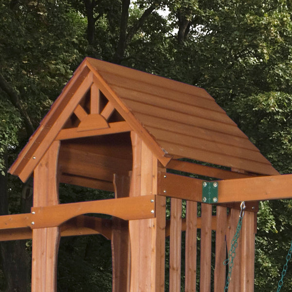Sonora Wooden Swing Set - Playsets | Backyard Discovery