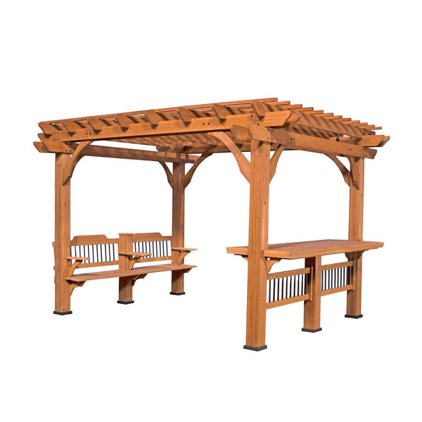Oasis pergola 12 x 10 pergola patio backyard discovery Patio products