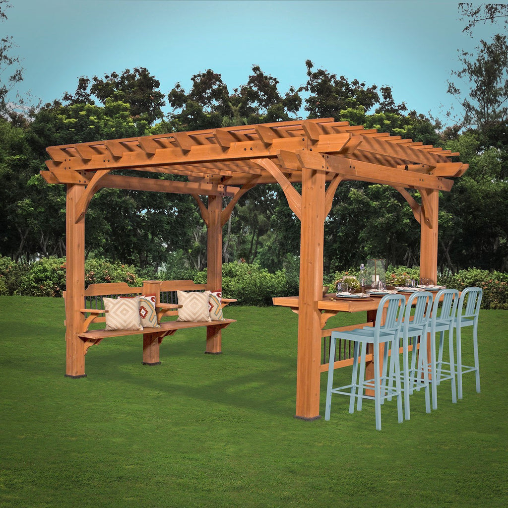 ... Patio Products - Oasis Pergola 10 X 12 Pergola ... - Oasis Pergola 12 X 10 Pergola - Patio Backyard Discovery