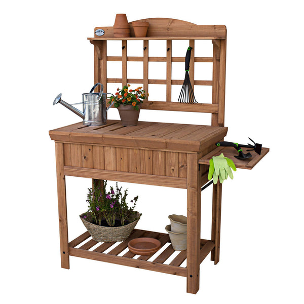 Patio Products - Potting Bench #features