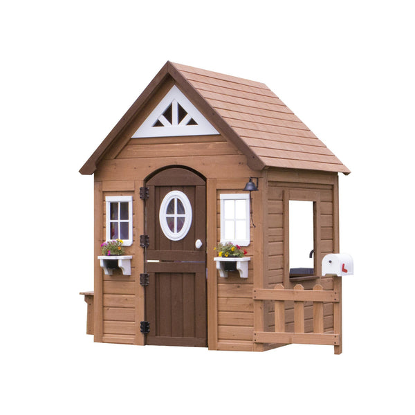 Wooden Playhouses - Aspen Playhouse #features