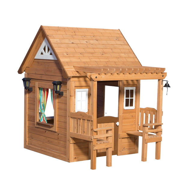 Wooden Playhouses - Cascade Playhouse #features