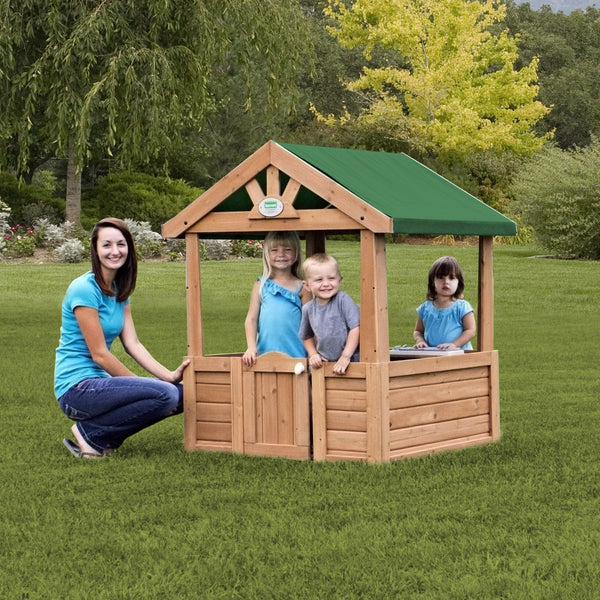 Wooden Playhouses - Cozy Playhouse #header #features