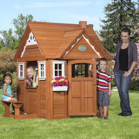 Wooden Playhouses - My Cedar Playhouse #main #features
