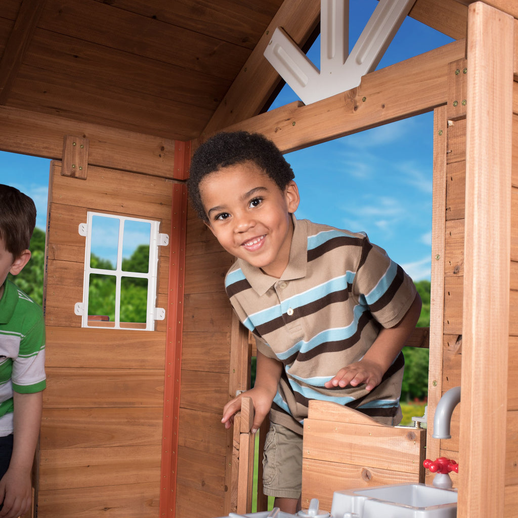 wooden playhouses scenic heights wooden playhouse