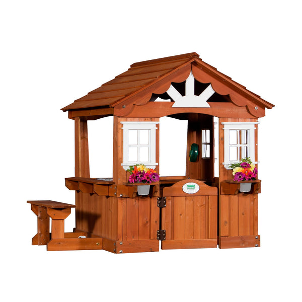 Wooden Playhouses - Scenic Playhouse #features
