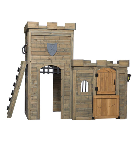 Wooden Playhouses - Windsor Castle Playhouse #features