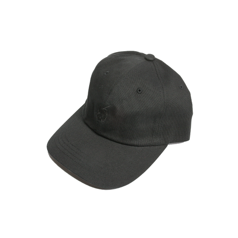 SKULL LOGO CAP [TRIPLE BLACK]