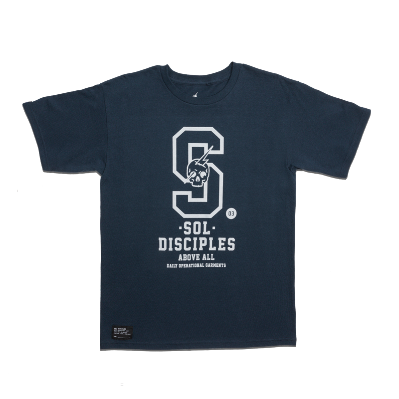 COLLEGIATE T-SHIRT [NAVY]