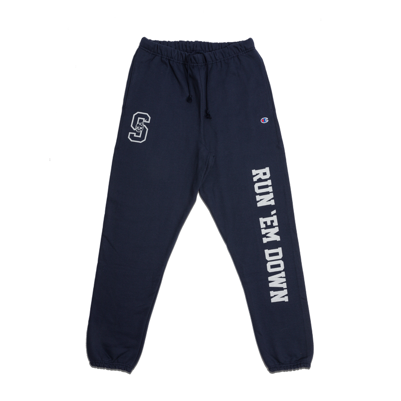 CHAMPION® COLLEGIATE SWEATPANTS [NAVY]