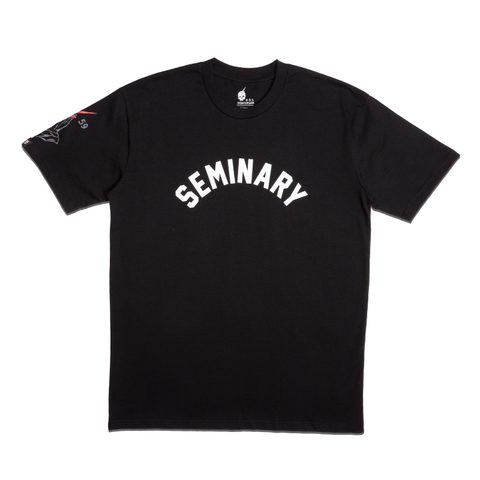 +PHILTHY RICH | SEMINARY T-SHIRT [BLACK]